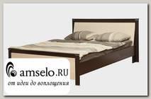 """Кровать 1600 """"Лила"""" (Венге/Дуб Линдберг)"""