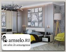 """Кровать 1400 """"Hanny"""" (Венге/Дуб)"""