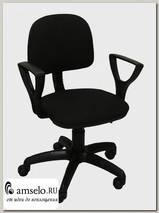 "Кресло ""Томи"" (Ткань чёрная/Пластик) А-Фм2"