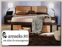 """Кровать 1600 с подъёмн.мех-м """"Марион"""" (Венге/Палисандр)"""