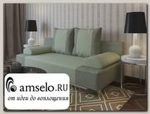 Диван-еврокнижка Мадрид (Велюр grey Asti com 03 (КН)/Велюр grey light Asti com 01 (КН))
