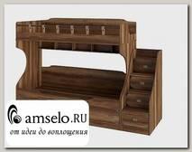 """Кровать двухъярусная """"Corsare"""" (Дуб Каньон)"""