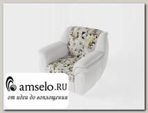 Кресло Дакота (Микровелюр Romantic 84/Кожзам. матовый 116)
