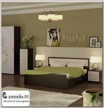 """Кровать 1600 """"Лаки"""" (Лоредо)"""