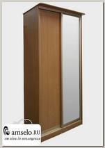 """Шкаф-купе 2-х дверный с зеркалом """"Рики"""" (Бук)"""