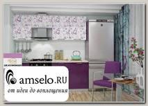 """Кухня 2,1 """"Лакрима"""" (Флора)"""