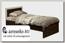 """Кровать 900 """"Фрида"""" (Венге/Дуб Линдберг)"""