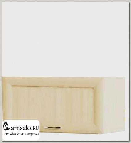 """Шкаф 600 верхнее откр. """"Мокко"""" (рамочный) (Бел. дуб)"""
